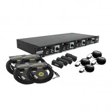 ELITE CORE HA4X4 - 4 USER BUNDLE WITH EU-5X EARPHONES