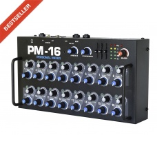 ELITE CORE PM-16 - 16 CHANNEL PERSONAL MONITOR MIXER