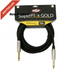 SUPERFLEX GOLD SFI-10SS - PREMIUM-INSTRUMENT - CABLE (10FT )