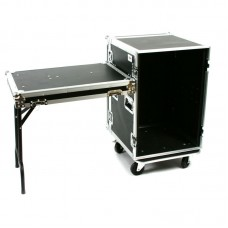 OSP RC16U-20SL - 16 SPACE - ATA AMP RACK W/CASTERS & STANDING LID