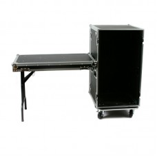 OSP RC20U-20SL - 20 SPACE - ATA AMP RACK W/CASTERS & STANDING LID