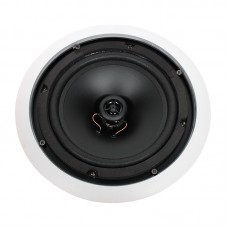 "Elite Core CX8000 - 70V Multi Tap 8"" Ceiling Speaker 40 Watt Public Address System"