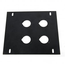 ELITE CORE FB-PLATE4 - UNLOADED PLATE FOR RECESSED FLOOR BOX