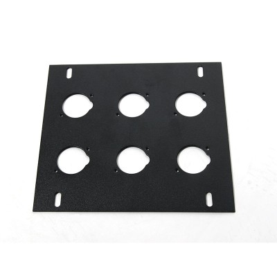 Elite Core FB-PLATE6 - Unloaded Plate for Recessed Floor Box