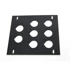 ELITE CORE FB-PLATE8 - UNLOADED PLATE FOR RECESSED FLOOR BOX