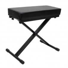 OSP  LKS-PKB-MC - PADDED ADJUSTABLE HEIGHT KEYBOARD X STYLE BENCH