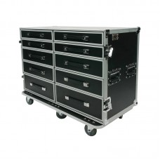 OSP PRO-WORK-SXS - ATA SIDE BY SIDE DRAWER CASE