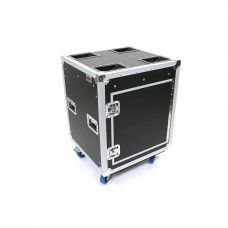 "OSP TR12U-20-SR-PD - TOUR READY - 12 SPACE - 20"" DEEP SHOCK RACK W/POCKET DOORS"