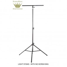 SCRIM-KING SS-LST-W - WHITE SINGLE SIDED LIGHTING STAND SCRIM