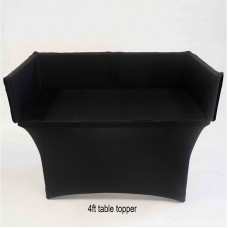 SCRIM-KING SS - TP40100B SCRIM FOR TABLE TOPPER BLACK (4FT)