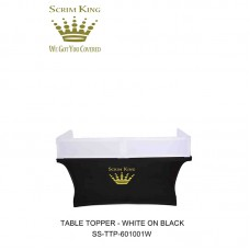 SCRIM-KING SS - TTP60100W - TABLE TOPPER WITH WHITE SCRIM (6FT)