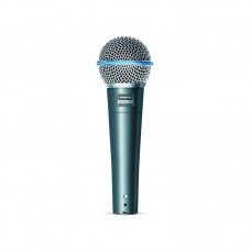 SHURE BETA 58A - SUPERCARDIOID DYNAMIC WITH HIGH OUTPUT NEODYMIUM ELEMENT