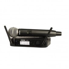 SHURE GLXD24-SM58 - DIGITAL 2.4GHZ WIRELESS HANDHELD MICROPHONE SYSTEM, Z2