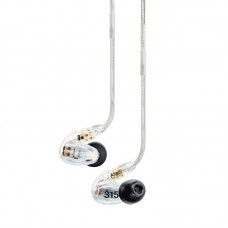 SHURE SE215-CL - SOUND ISOLATING EARPHONES WITH DYNAMIC MICRODRIVER AND DETACHABLE CABLE (CLEAR)