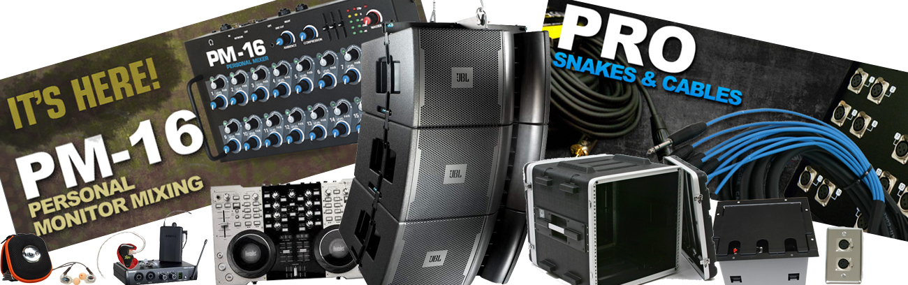Your Source For Pro Audio Gear!